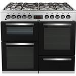 Dual Fuel Cooker - 100 cm Dual Fuel Cooker price comparison Beko KDVF100X Stainless Steel