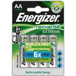 Batteries price comparison Energizer AA Accu Recharge Extreme 4-pack