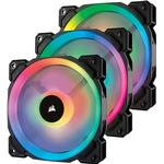 Fans Corsair LL120 Dual Light Loop LED RGB 120mm Three Pack