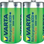 Rechargeable Standard Batteries price comparison Varta Accu D 3000mAh 2-pack