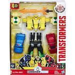 Transformers - Action Figures Hasbro Transformers Robots in Disguise Combiner Force Team Combiner Ultra Bee C0626