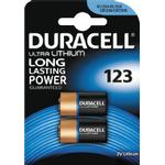 Batteries Duracell CR17345 2 Pack