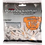 Golf Accessories - White Pride Professional Mini Wooden Tees 38mm 90-pack