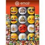 Golf ball - Red Emoji Novelty (12 pack)