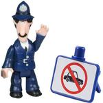 Postman Pat Toys Character Postman Pat Figure & Accessory PC Selby & No Cars Sign