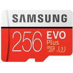 Samsung EVO Plus MicroSDXC Class 10 UHS-I U3 100/90MB/s 256GB+Adapter