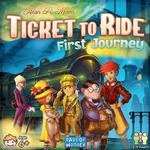 Childrens Board Games - Routes & Network Ticket to Ride: First Journey U.S.