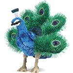 Puppets - Birds Folkmanis Peacock Small 2834