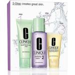 Gift Box / Set Clinique 3-Step Introduction Kit Skin Type 1