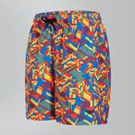 "L - Wet Suit Parts Speedo Clash Block Printed Leisure 15"" Shorts Jr"