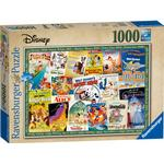 Jigsaw Puzzles Ravensburger Disney Vintage Movie Posters 1000 Pieces