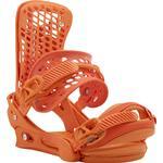 Snowboard Bindings - Orange Burton Genesis Re-Flex
