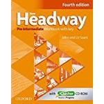 Headway english course Books New Headway: Pre-Intermediate A2 - B1: Workbook + iChecker with Key: The world's most trusted English course