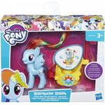 Figurine price comparison Hasbro My Little Pony Rainbow Dash Royal Spin Along Chariot B9835