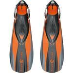 Orange - Flippers Aqua Lung X Shot