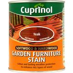 Cuprinol Softwood & Hardwood Garden Furniture Woodstain Brown 0.75L