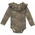 Bodysuits - 3-6M Children's Clothing MarMar Leo Bibbi - Brown Leo