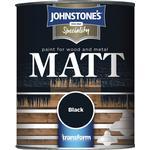 Metal Paint price comparison Johnstones Speciality Matt Wood Paint, Metal Paint Black 0.75L