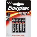 Cheap Rechargeable Standard Batteries Energizer Alkaline Power AAA LR03 4-pack
