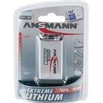 9V (6LR61) - Camera Batteries Ansmann Extreme Lithium 9V Compatible
