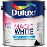 Wall Paint Dulux Magic White Matt Wall Paint, Ceiling Paint White 2.5L