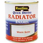 Radiator Paint Rustins Quick Dry Radiator Paint White 0.5L