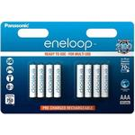 AAA (LR03) - Rechargeable Standard Batteries Panasonic BK-4MCCE/8BE Compatible 8-pack