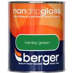Metal Paint price comparison Berger Non Drip Gloss Wood Paint, Metal Paint Green 0.75L