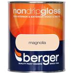 Metal Paint price comparison Berger Non Drip Gloss Wood Paint, Metal Paint Beige 0.75L