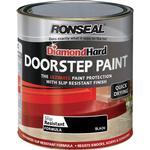 Concrete Paint price comparison Ronseal Diamond Hard Door Step Concrete Paint Black 0.25L