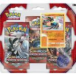 Pokémon Sun & Moon Crimson Invasion 3 Booster Packs Plus Lucario Promo Card