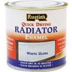Radiator Paint Rustins Quick Dry Radiator Paint White 0.25L
