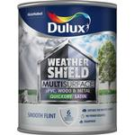Dulux Weathershield Multisurface Wood Paint, Metal Paint Grey 0.75L