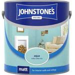 Ceiling Paint price comparison Johnstones Matt Wall Paint, Ceiling Paint Blue 2.5L