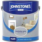 Ceiling Paint price comparison Johnstones Matt Wall Paint, Ceiling Paint Grey 2.5L