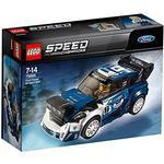 Plasti - Lego Speed Champions Lego Speed Champions Ford Fiesta M-Sport WRC 75885
