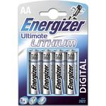 Batteries price comparison Energizer AA Ultimate Lithium 4-pack