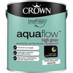 Metal Paint Metal Paint price comparison Crown Aquaflow Wood Paint, Metal Paint White 2.5L