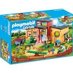 Farm Life - Play Set Playmobil Tiny Paws Pet Hotel 9275