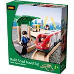 Car Track Set Brio Rail & Road Travel Set 33209