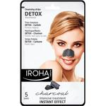 Pore Cleansing Strips - Blackheads Iroha Charcoal Detox Strips 5-pack