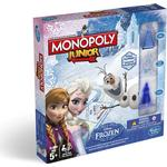 Childrens Board Games - Finance Monopoly: Junior Disney Frozen