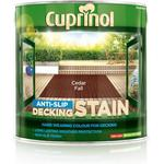 Cuprinol Anti Slip Decking Woodstain Brown 2.5L