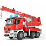 Fire fighter - Lorry Bruder MB Arocs Fire Service Crane