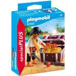 Figurines Playmobil Pirate with Treasure Chest 9358