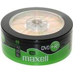 DVD Maxell DVD+R 4.7GB 16x Spindle 25-Pack (275735)
