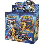 Collectible Card Games Pokémon XY - Evolutions Booster Display