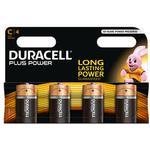 Alkaline - Camera Batteries Duracell C Plus Power 4-pack
