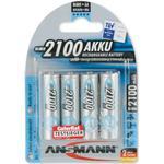 Silver - Camera Batteries Ansmann NiMH Mignon AA 2100mAh MaxE Compatible 4-pack