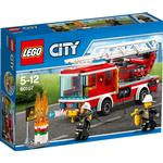 Lego City Fire Ladder Truck 60107